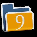 аватары: Папка с цифрой 9 сверху
