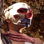 аватары: Девушка в клоунской маске из Point Blank