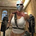 аватары: Девушка в маска из Point Blank