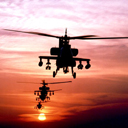 аватары: Два военных вертолета