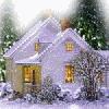 аватары: Дом в снегу