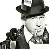 аватары: Представитель прессы с телефоном