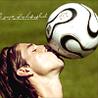 аватары: Молодой человек с мячем