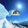 аватары: Полет со склона снежного