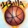 аватары: Надпись и мяч баскетбольный