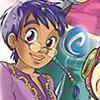 аватары: Персонаж из аниме с очками на носу