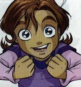 аватары: Девочка из аниме с глазами большими от эмоций