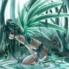 аватары: Ангел с зелеными крыльями