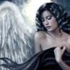 аватары: Брюнетка девушка ангел