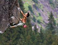 аватары: Скалолаз на скале