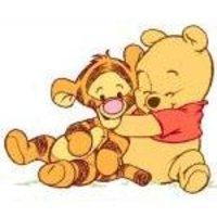 аватары: Мишка в обнимку с тигром
