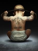 аватары: Карапуз в тату с повязкой на голове