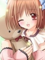 аватары: Девочка с плюшевым мишком