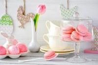 аватары: печенье розовое и тюльпан