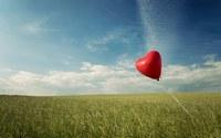 аватары: красный шарик в поле