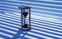 аватары: песочные часы в полосках тени