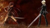 аватары: девченки с мечами