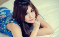 аватары: красивые глаза азиатки