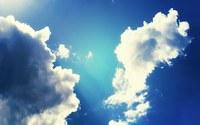 аватары: Рисунок облаков в синем небе