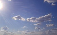 аватары: Плывут облака в лучах солнца