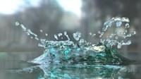 аватары: Округлая капля воды с брызгами