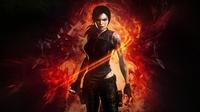 аватары: Рисунок девушки из огня