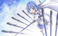 аватары: Девушка с мечами