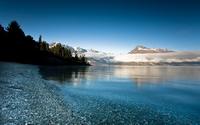 аватары: Низкие облака над горами и озером