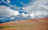 аватары: Облачное небо над песочными дюнами
