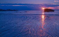 аватары: Закат у моря лиловый
