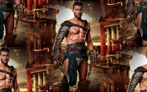 фон для дневника Спартак с мечом