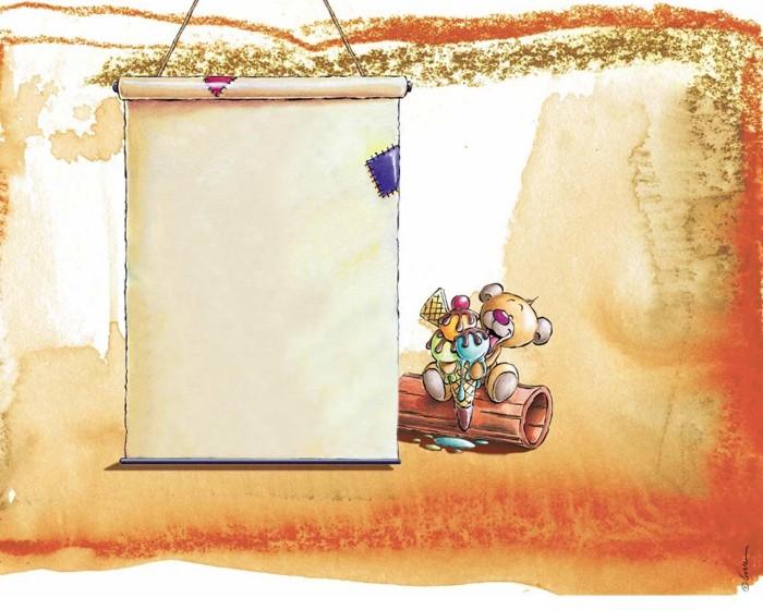 фон для дневника Лист бумаги