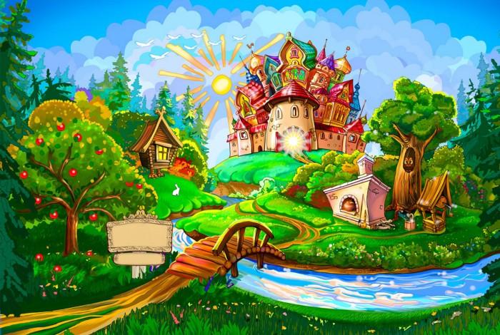фон для дневника Маленькое царство