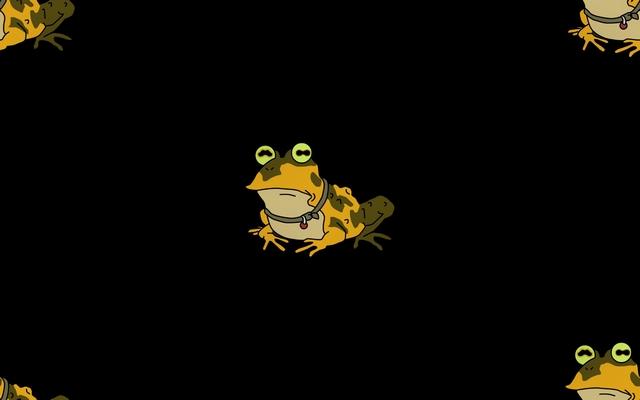 фон для дневника Рисунок лягушки