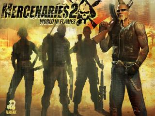 обои Mercenaries 2 world in flames фото