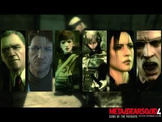 обои Персонажи из Metal Gear 4 фото