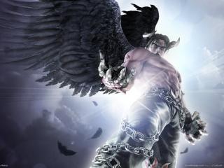 обои Темный ангел из tekken фото