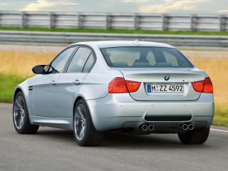 обои Bmw m3 sedan 2009 rear angle-other фото