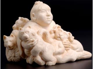 обои Каменный Будда фото
