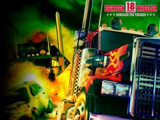 обои 18 Wheeler - American Pro Trucker фото