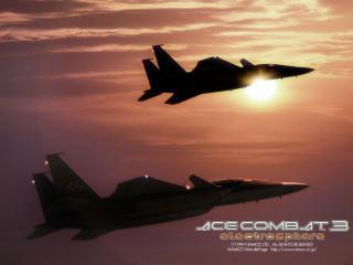обои Ace Combat 3 Electrosphere фото