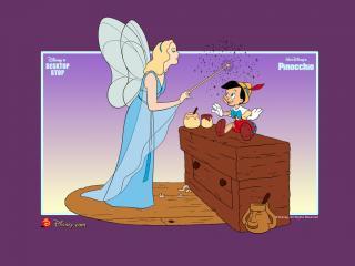 обои Пиноккио (Pinocchio, 1940). Фея фото