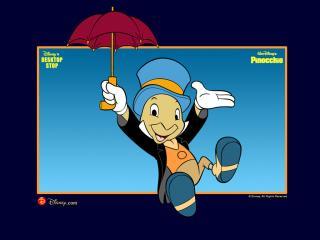 обои Пиноккио (Pinocchio, 1940). Сверчок фото