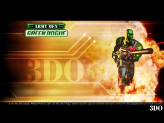 обои Army Men- Green Rogue фото