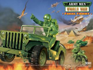 обои Army Men World War Final Front фото