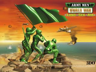 обои Army Men World War- Land Sea Air фото