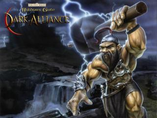 обои Baldur s Gate- Dark Alliance фото
