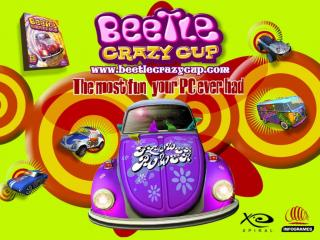 обои Beetle Crazy Cup фото