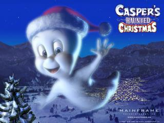 обои Casper s Haunted Christmas фото