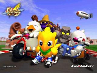 обои Chocobo Racing фото